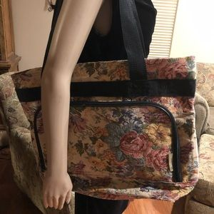 Extra Large Tapestry Tote-Great For Carry On